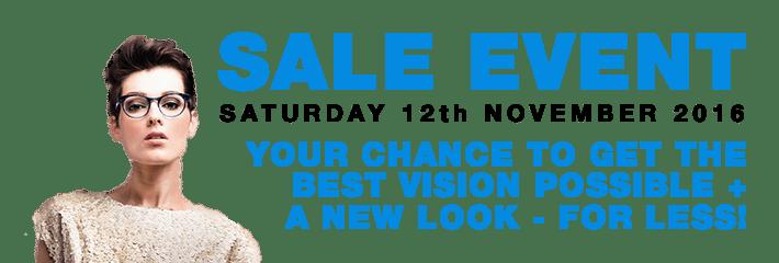 Sale Event Saturday 12th November 2016