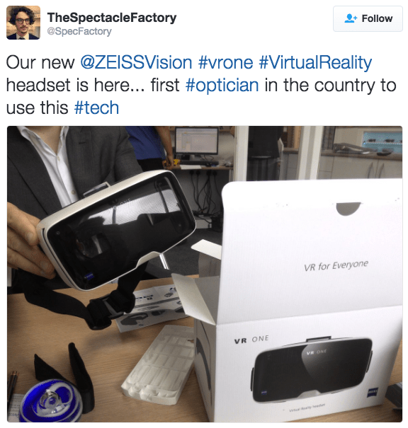 New Virtual Reality Technology Now Available – The Spectacle