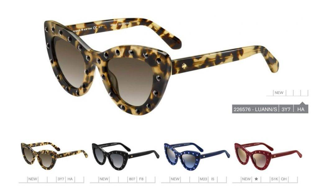 8d2dae23f55 In January this year Kate Spade launched the eyewear line in the UK and  opened the first Flagship store in the country