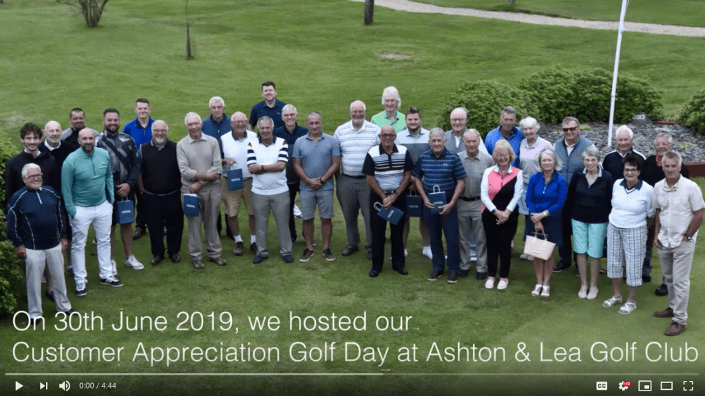 Customer Appreciation Golf Day 2019