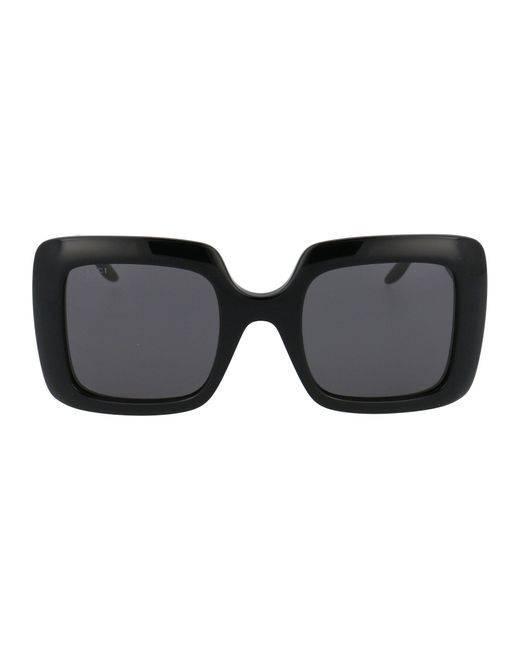 gucci-Black-Square-Frame-Sunglasses